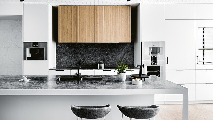 """**That's entertainment** Keen cooks know the secret to a successful [entertainer's kitchen](https://www.homestolove.com.au/8-tips-for-creating-the-ultimate-entertainers-kitchen-4070