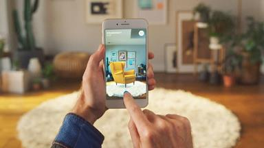 IKEA's new app, IKEA Place, lets you virtually place furniture anywhere in your home