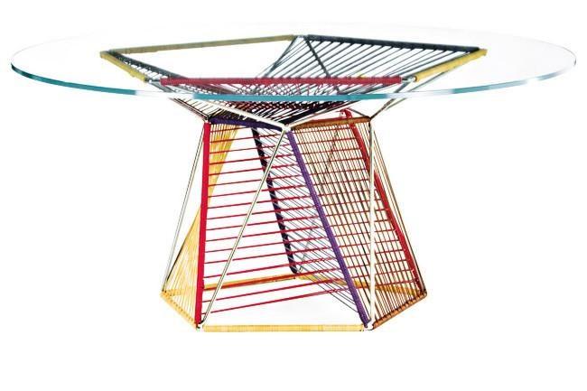 Frag 'Mogador' dining table by [Philippe Bestenheider](http://www.philippebestenheider.com/).