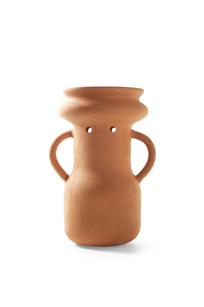 "BD Barcelona Design 'Gardenias No.4' vase by Jaime Hayón, $585, [Living Edge](https://livingedge.com.au/products/gardenias-vase-no-4|target=""_blank""|rel=""nofollow"")"