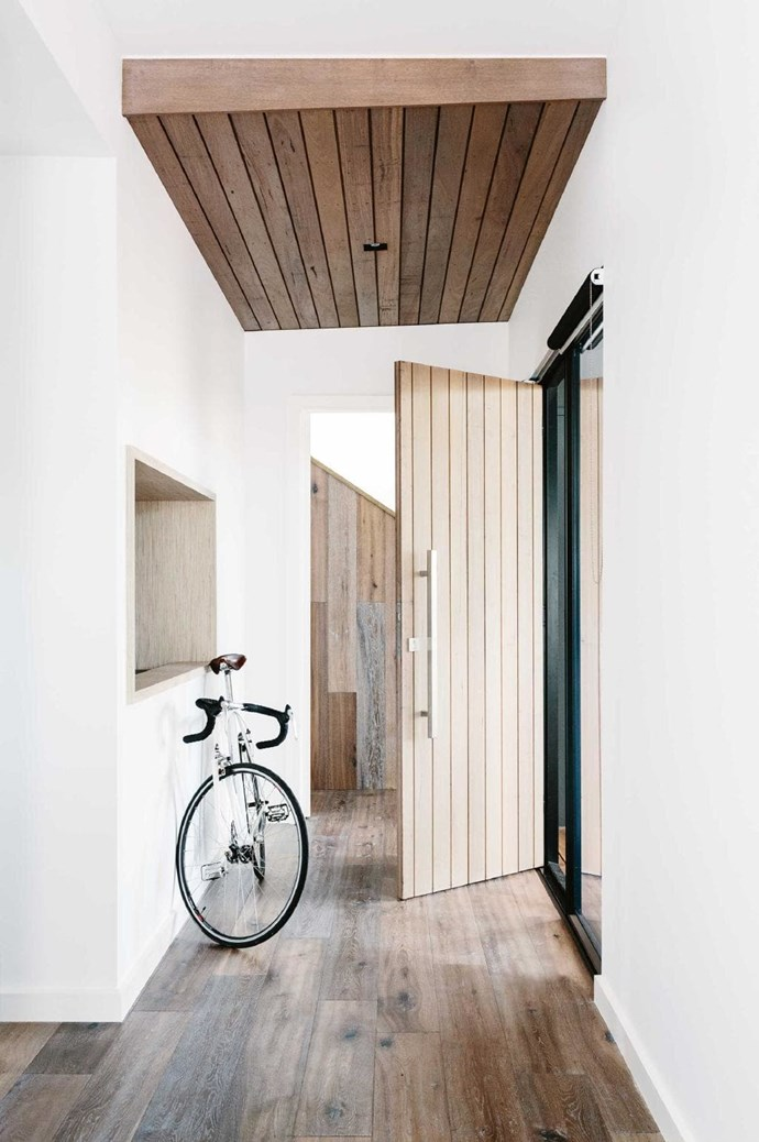 Timber floorboards and white walls combine to give this home an organic feel. The tones also help magnify natural light. *Design: [Altereco Design](http://www.altereco.net.au) | Photographer: Tara Pearce.*