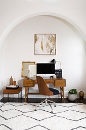 Brooke Testoni & Ally Hayward: inside their chic home office makeovers