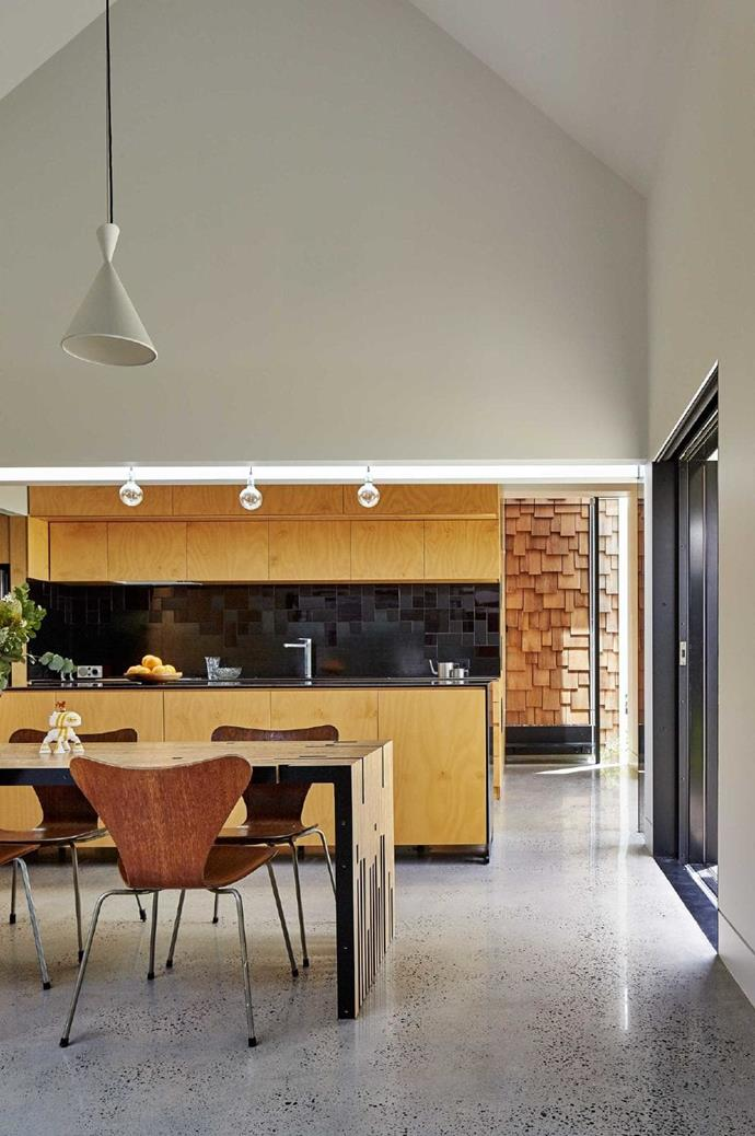 """Passive solar gain was top of the list, so the team ensured that openings and [double-glazed windows](https://www.homestolove.com.au/double-glazed-windows-19772