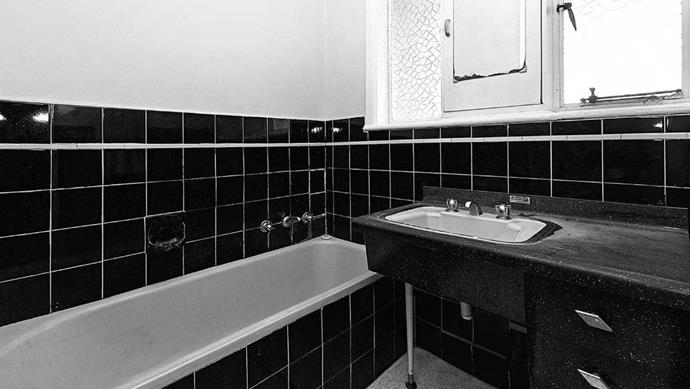 BEFORE Dated and dreary, the bathroom needed more light, ventilation and a new layout to maximise space