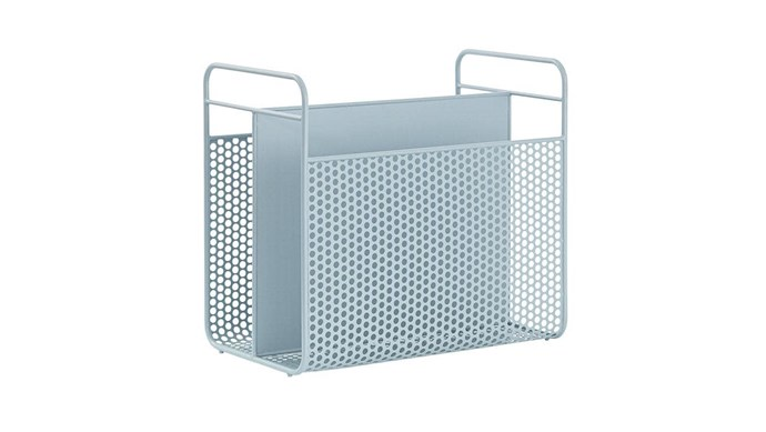 Normann Copenhagen 'Analog' magazine rack, $200, [Hunting For George](https://www.huntingforgeorge.com/).