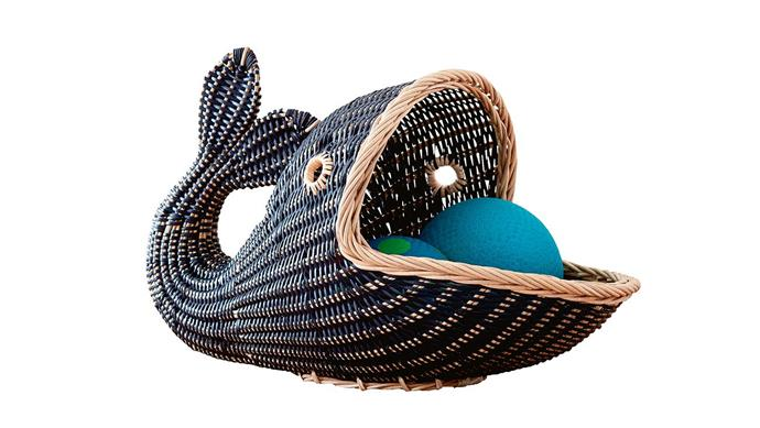 'Whale' basket, $129, [Pottery Barn Kids](http://www.potterybarnkids.com.au/). _Photography by Craig Wall and Styling by Jono Fleming with assistance from Chrix Xi, Kayleen Thomas and Sandra Arena._