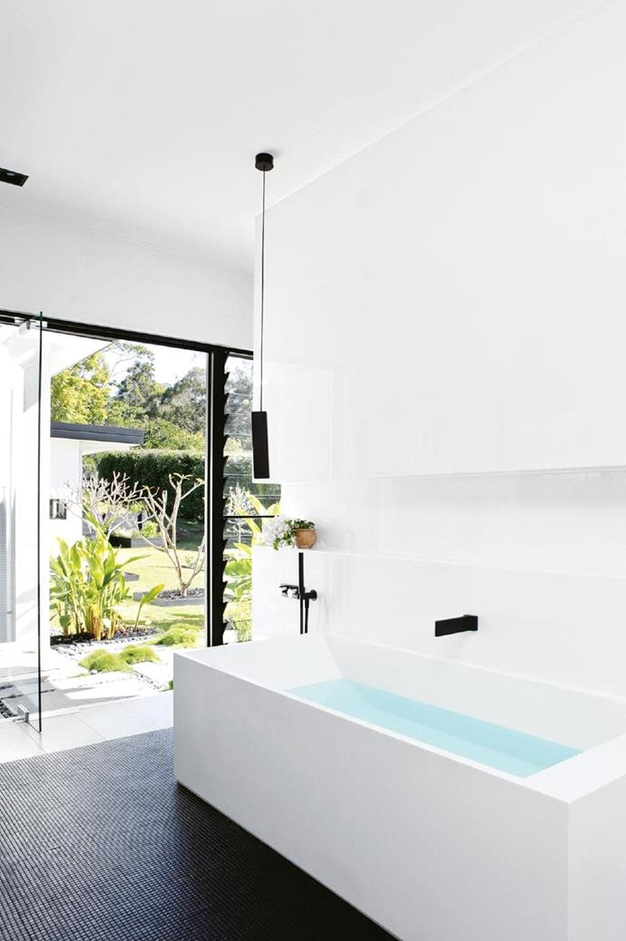 **The have-it-all**. If you have access to the garden from your bathroom, then flaunt it with floor-to-ceiling doors and louvred windows to let the fresh air in. Also room for a large soaking tub? Go for it! This beautifully light, airy and large space is, quite frankly, the unicorn of bathrooms. If you can make it happen, we salute you. Designed by [Sarah Waller Design](http://sarahwallerdesign.com.au/) Photographer: Anastasia Kariofyllidis, Stylist: Simone Barter