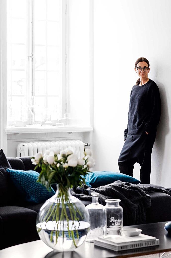 Evelina Kravaev Söderberg is the head designer at H&M home.