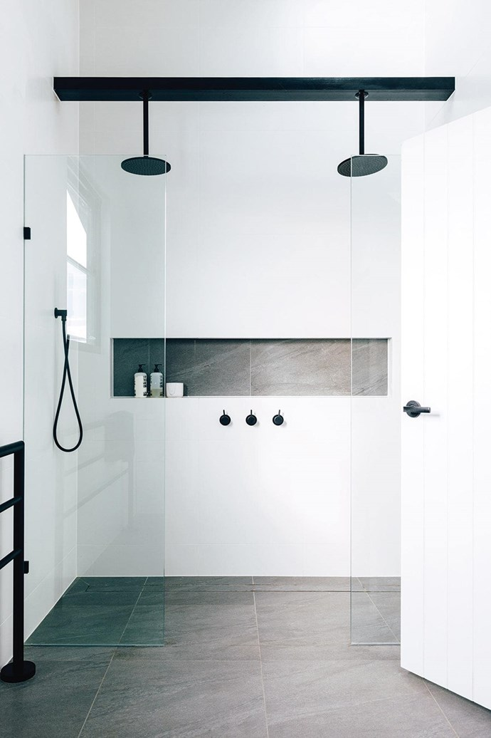 """There's a reason why black and white is often the go-to colour scheme for bathrooms. The chic colour combination always manages to make a [bathroom feel modern and timeless](https://www.homestolove.com.au/10-timeless-black-and-white-bathrooms-4583