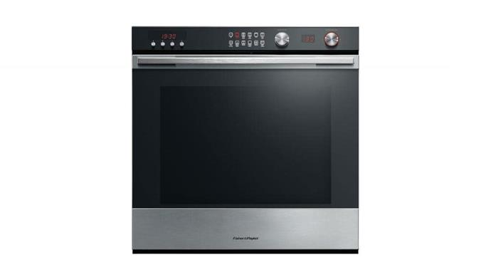 Pyrolytic oven: 'OB60SL11DEPX1' 60cm 11-function oven, $2649, [Fisher & Paykel](http://fisherpaykel.com.au)