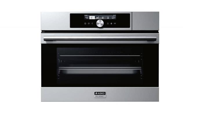 Combination oven: 'OCS8456S Pro Series' 60cm combination steam and conventional oven, $3999, [Asko](http://asko.com.au)