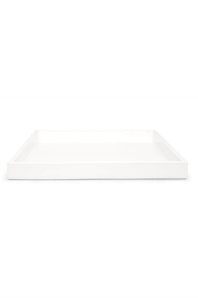"#3 Lacquer tray, from $39.95, [Myer](https://www.myer.com.au/). ""These come in three sizes, which are designed to fit together or can be used separately. I love a bit of layering."""