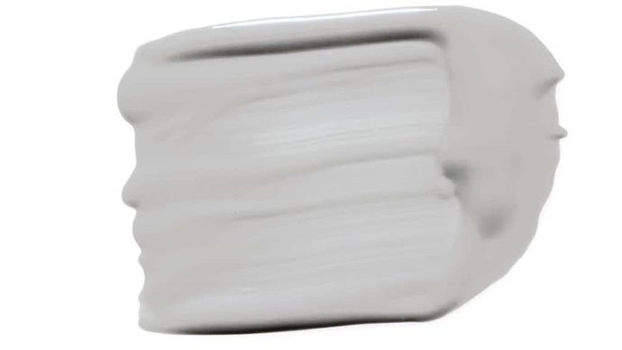 'Clean & Protect' low sheen interior paint in Cold Metal, $57.50/4L, [British Paints](http://britishpaints.com.au)