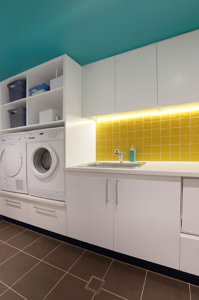 "While white will always win in a laundry, this space by Jennifer French of [Inside Out Colour & Design](http://www.insideoutcolouranddesign.com.au/|target=""_blank""