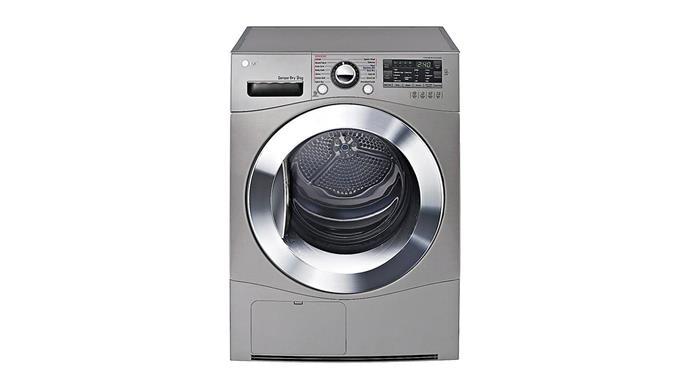 **Dryer** LG 9kg condenser dryer with Tag On function, $1429, [Winning Appliances](https://www.winningappliances.com.au/).