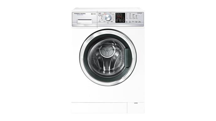 **Washing machine** 'WashSmart' 7.5kg front-loader washing machine, $1099, [Fisher & Paykel.](https://www.fisherpaykel.com/au.html)