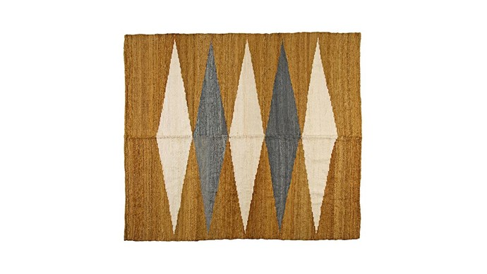 'Puna #0448' rug, $1290/173cm x 190cm, [Pampa](https://pampa.com.au/).