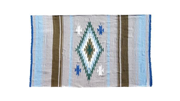 Nipomo 'Tierra' blanket, $169, [Koskela](https://www.koskela.com.au/).