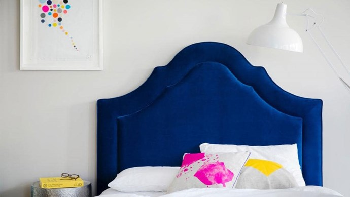 'Pimlico' beadhead in [Warwick Fabrics](https://www.warwick.com.au/) 'Entice Pacific' fabric, from $999, from [BedNest](http://www.bednest.com.au/) Photographer: Chris Warnes