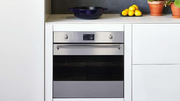 Pyrolytic oven: Keep your lines clean and sharp by integrating your oven. 'SFPA6395X' 60cm thermoseal pyrolytic oven, $3290, [Smeg](http://smeg.com.au)