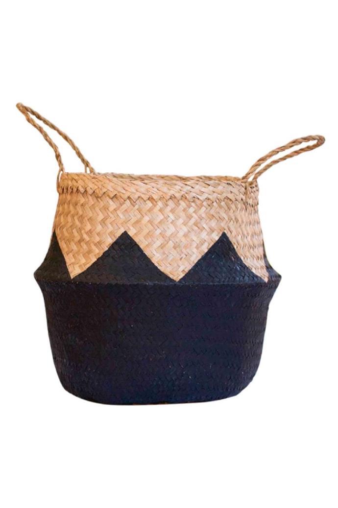 'Zigzag' basket, $85, [Fazeek](http://www.fazeek.com.au/)
