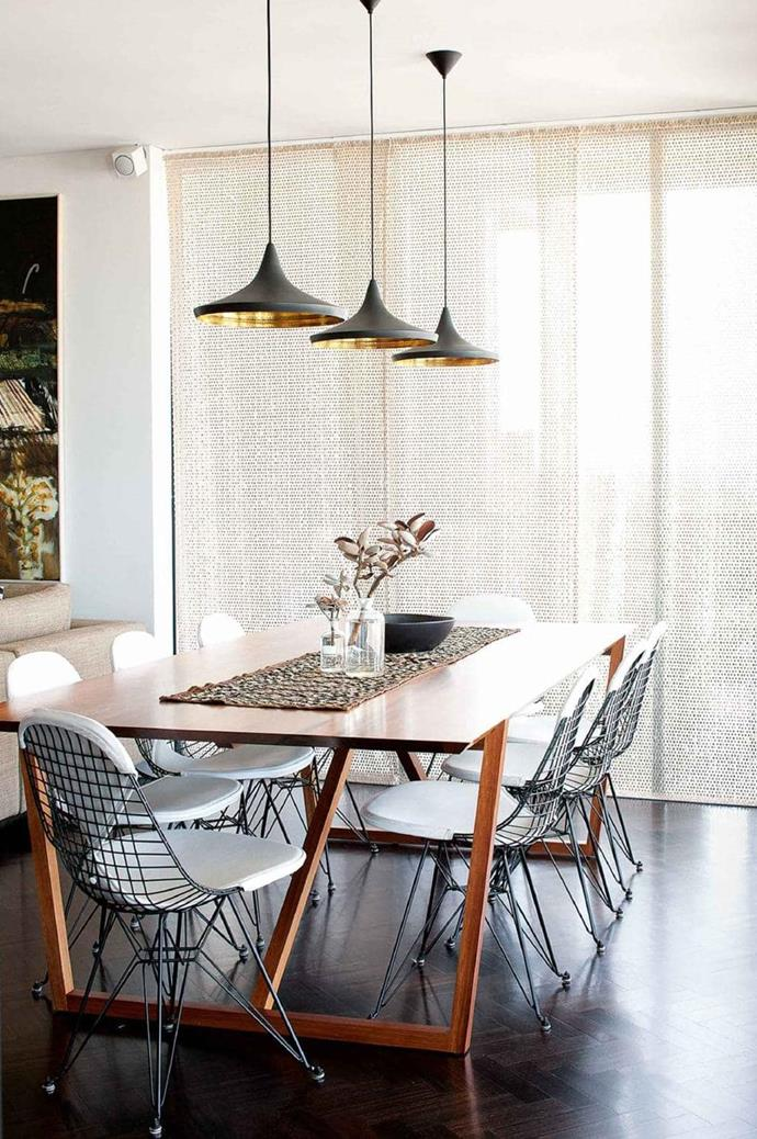 **CLUSTER PENDANT LIGHTS** <br><br>Whether you opt for a row or a cluster positioned at varying heights, pedant lights above your dining table, kitchen bench or in the bedroom bring drama and a high-end feel to a space.<br><br>