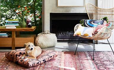 Interior stylist Julia Green shares her tips for styling with colour