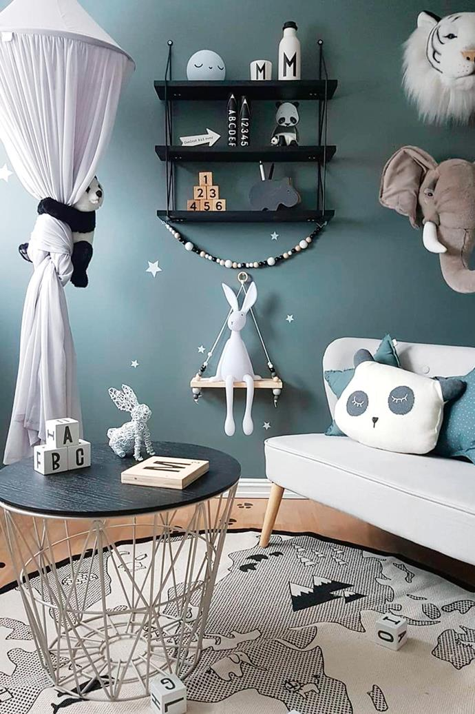 **Theme selection: choosing a concept that won't date** Themes for kids' rooms can be tricky, mainly because children tend to have a new 'favourite thing' every second week. Consider a broader topic that your kids are keen on, such as animals or outer space, and go from there. Subtlety is key, so go with non-permanent fixtures that can be removed down the track. For example, bright cushion covers can be replaced with plain options, and ornaments can be put away when it's time to move on. Try to keep the more permanent pieces, such as window coverings, furniture, wall colour and bedding, neutral. This way, when the time comes to select another theme, you won't need a completely new canvas. Photography: [Malin Nilsen](https://www.instagram.com/mamma_malla/). Stylist: Malin Nilsen.
