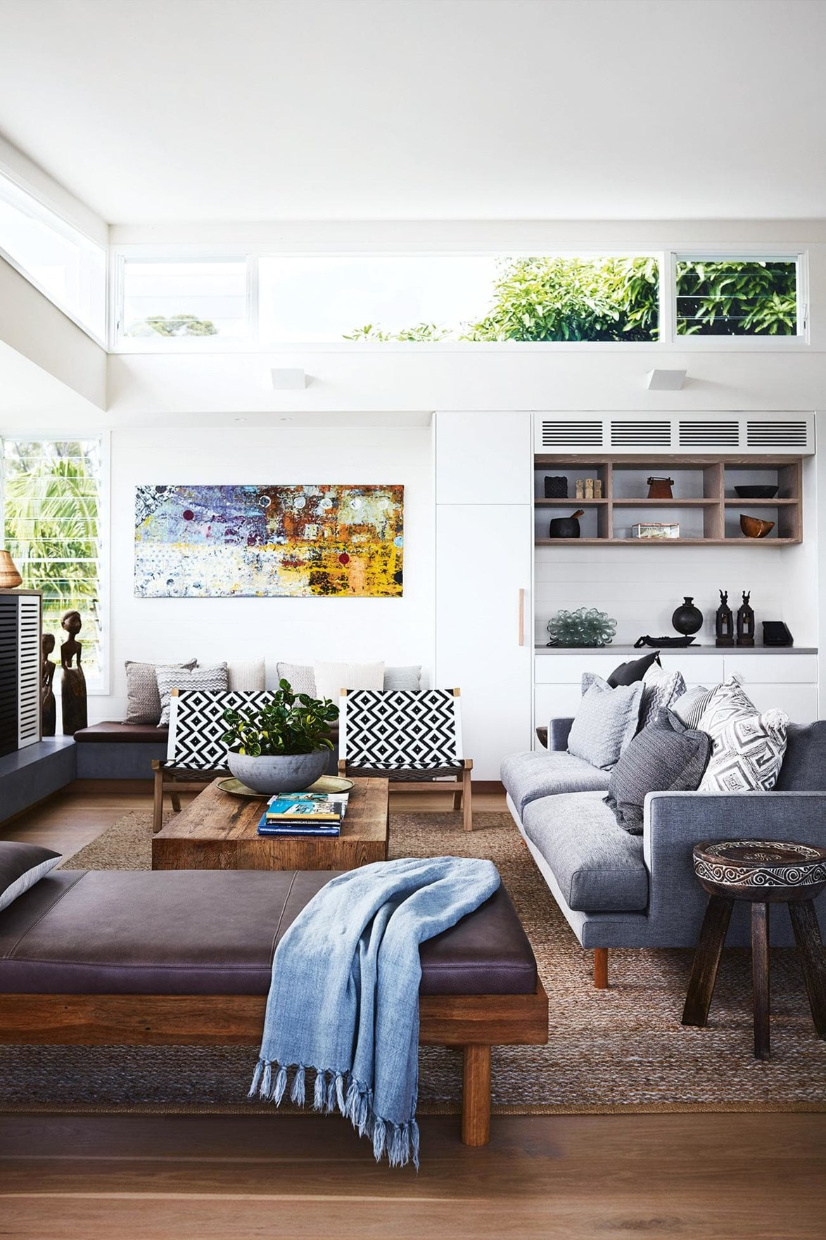 """***AYINDI*** <p> <p>After staying in a series of disappointing holiday homes, an interior designer and architect paired up to create their idea of the ultimate [Byron Bay beach house](https://www.homestolove.com.au/tour-this-seaside-haven-located-in-byron-bay-17405