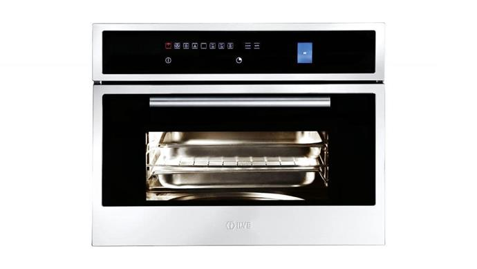 Combination oven: 'ILCS45X' 60cm combination steam and conventional oven, $3499, [Ilve](http://ilve.com.au)