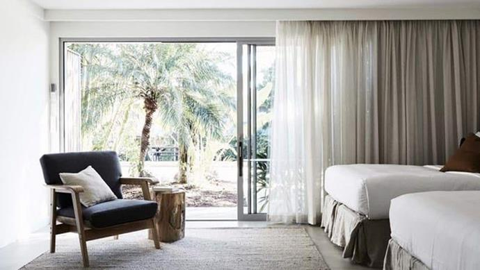 Converted from a motel to a luxury boutique hotel, The Bower defines everything we love about Byron Bay into one, laid-back location.