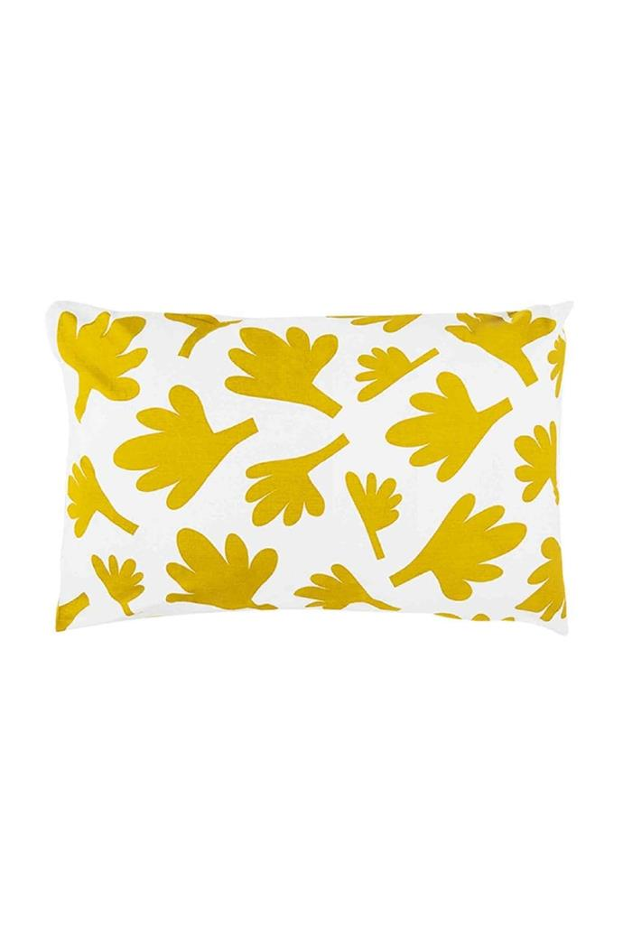 'Fern' pillowcase, $49, [Castle](http://www.castleandthings.com.au/)
