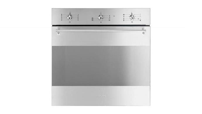 Electric oven: Smeg 'SFA304X' 60cm stainless-steel oven with self-cleaning function, $1590, [Appliances Online](http://appliancesonline.com.au)