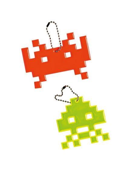 Space Invaders Key Chain, from [Papier D'Amour](http://www.papierdamour.com.au/).