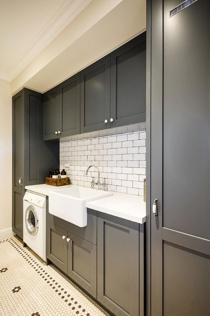 "A monochromatic palette brings a timeless elegance to this space by [Steding Interiors & Joinery](http://www.steding.com.au/|target=""_blank""