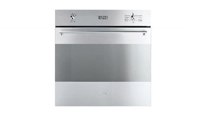 Pyrolytic oven: Smeg 'SFPA309X' 60cm thermoseal multifunction oven, $2490, [Winning Appliances](http://winningappliances.com.au)