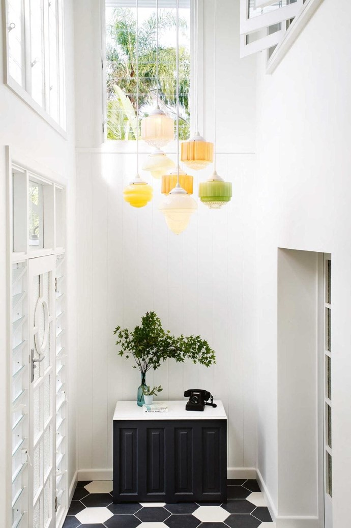 """A cluster of sherbet-coloured [Art Deco](http://www.homestolove.com.au/modern-art-deco-style-4254