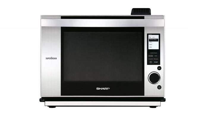 Steam oven: 'AX1500JS SuperSteam' oven, $1349, [Sharp](http://sharp.net.au)