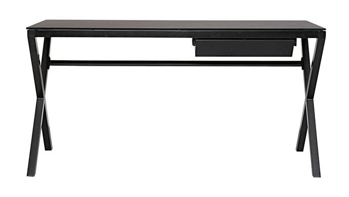 """**'Nexus' desk, $899, [Domayne](https://www.domayne.com.au/nexus-office-desk.html
