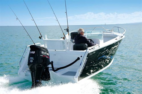 Formosa Mk 4 520 SC on the water
