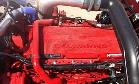 Peterbilt 389 Cummins Engine