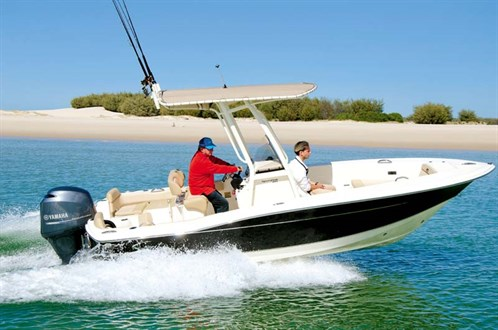 Scout 195 Sportfish on the water