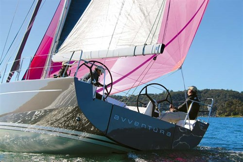 Pink sails on Solaris One 42