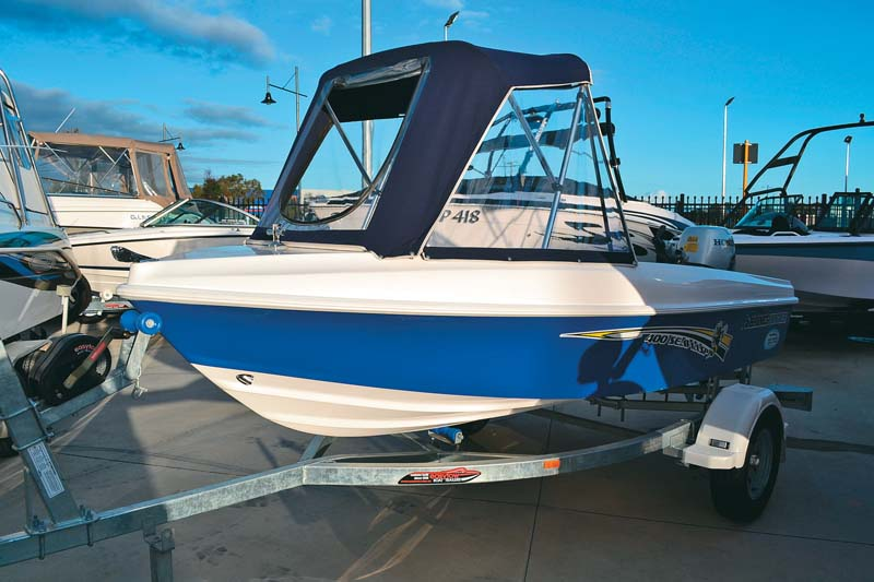Haines Hunter Sea Wasp 400