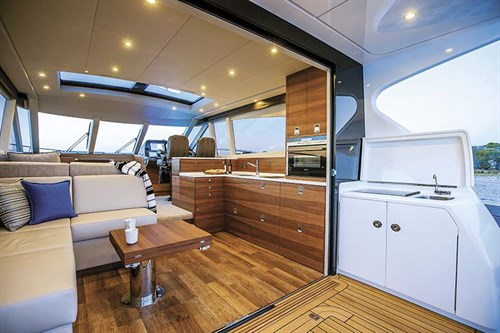 Interior of Elandra 53