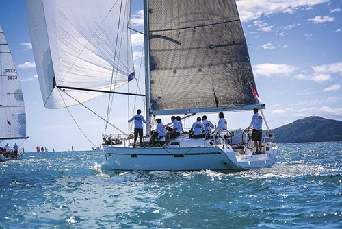 Bavaria 41 sailboat
