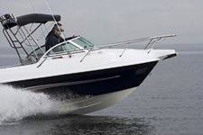 New Haines Hunter boat