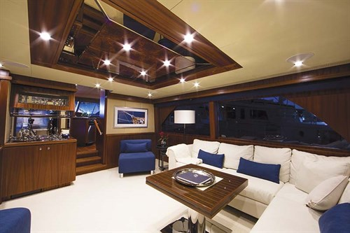 Ocean Alexander 72 interior layout