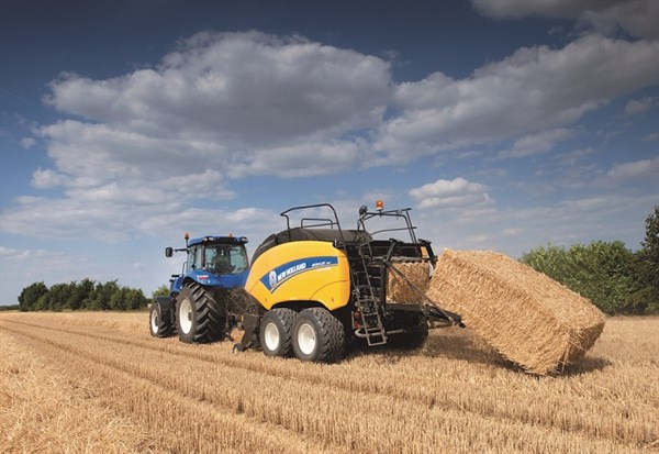New Holland Baler