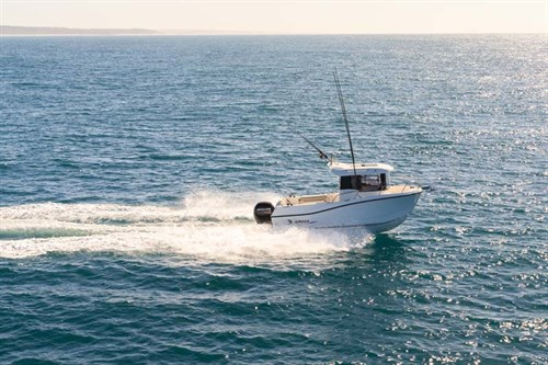 Arvor 605 Sportsfish ride
